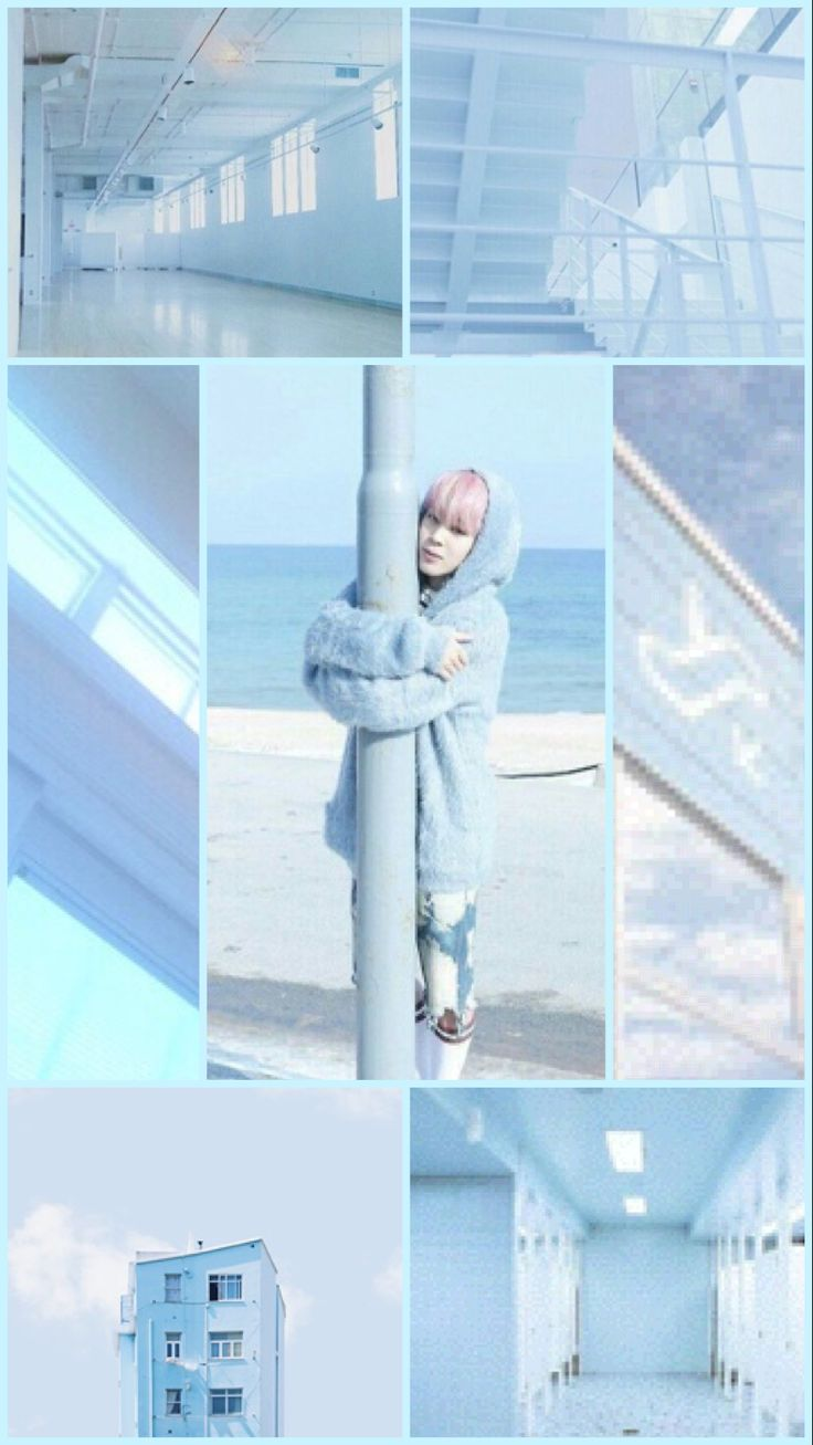 Dope Wallpapers For Iphone X Hey I Made A Pastel Blue Aesthetic Jimin Wallpaper Hope