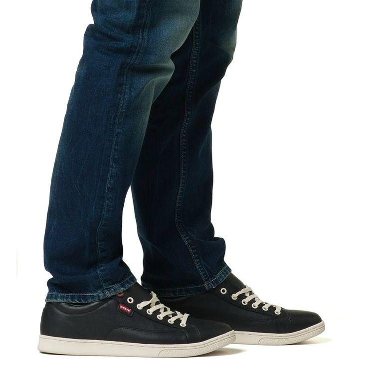 #butycom #shoes #levis #black #green