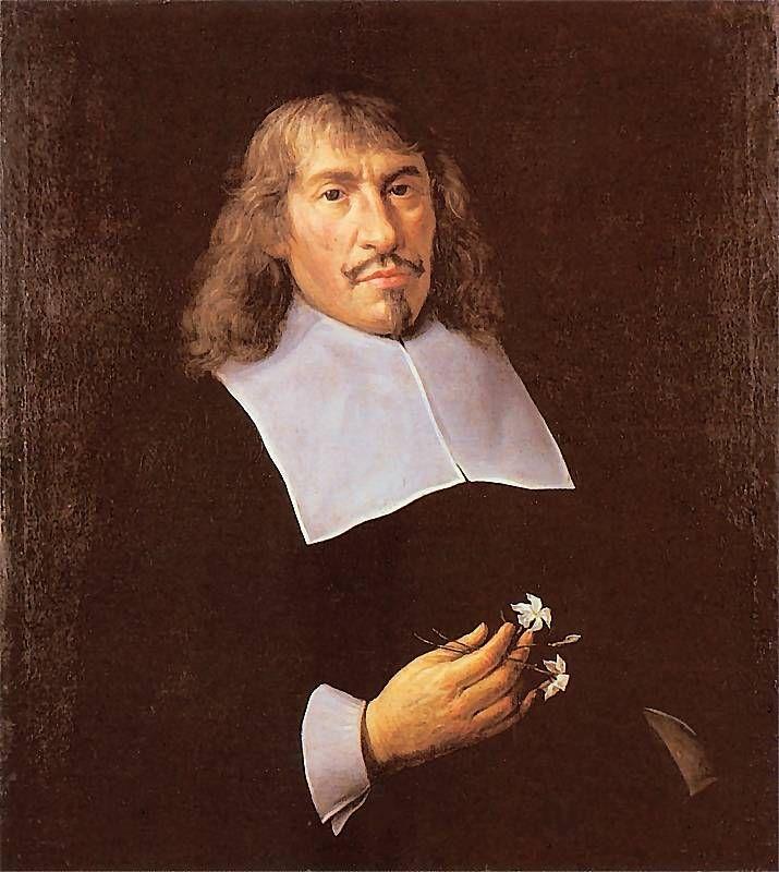 Andrzej Stech - Portret mężczyzny z dwoma kwiatkami, ok. 1666, olej na płótnie, Muzeum Narodowe w Gdańsku.