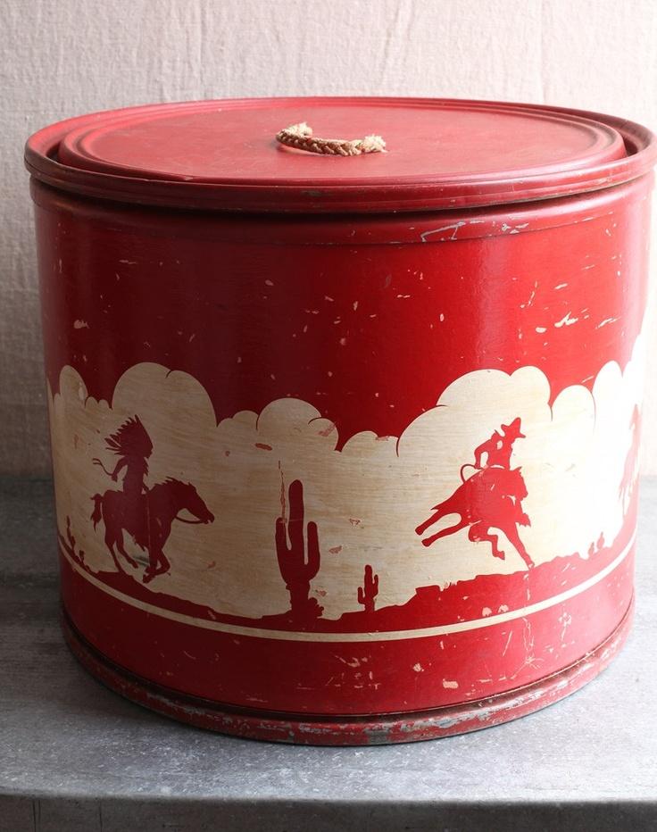 Western Toy Box. $110.00, via Etsy.