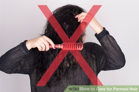 Image titled Care for Permed Hair Step 9