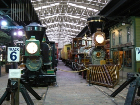 The Duluth Depot in Duluth, MNThis is a cool place to bring everyone.  Vintage trains, current trains my favorite transportation.Everyone should ride a train at leaste one time.