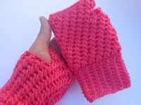 Crochet/crosia adorable fingerless gloves free pattern with video tut by crochetcrosiahome