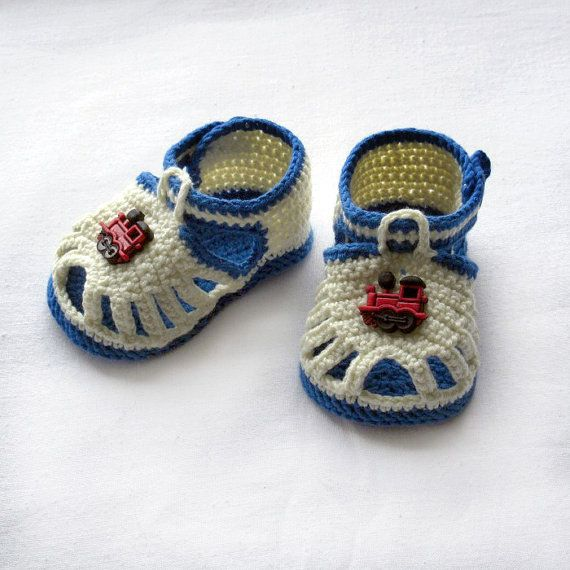 Crochet Patterns For Baby Shoes And Sandals : 25+ best ideas about Crocheted baby sandals on Pinterest ...