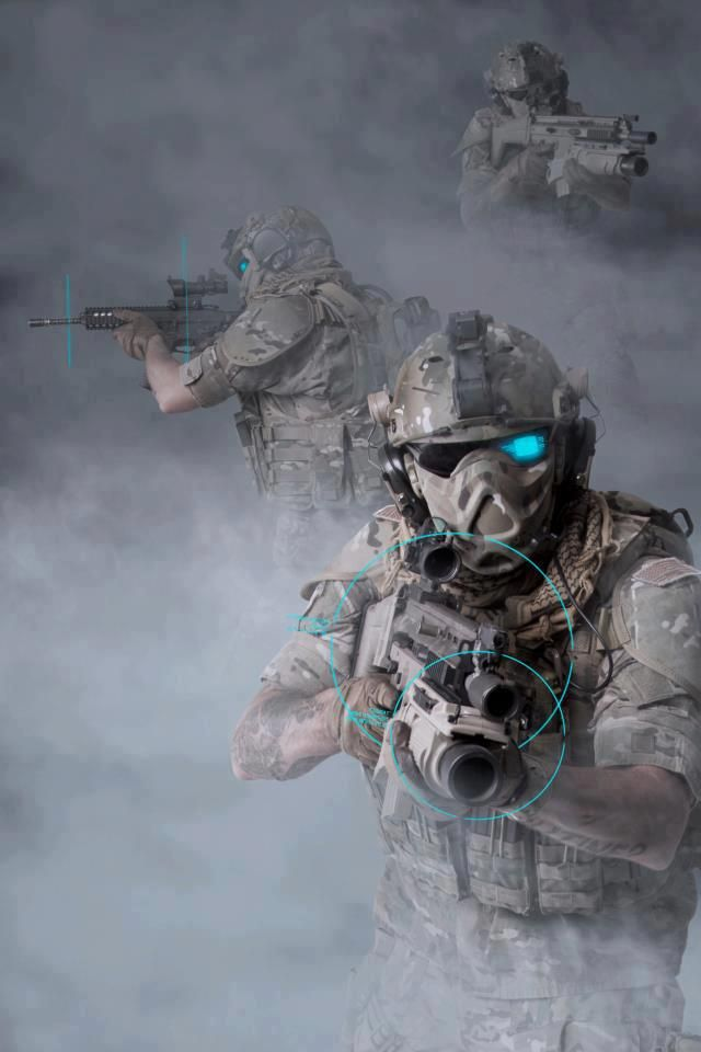 future ghost recon force airsoft loadout pinterest