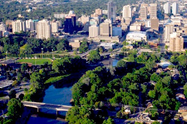 London, Ontario, where I lived for the first 8 years on my own, and where I had brain surgery that stopped my seizures caused by Epilepsy at University Hospital's Epilepsy Unit.  A great city.