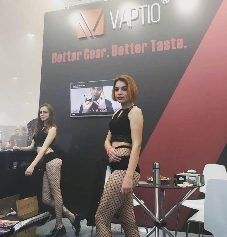 Better Gear, Better Taste! Vaptio on Moscow VapExpo. Looking forward to meet you at US ECC.