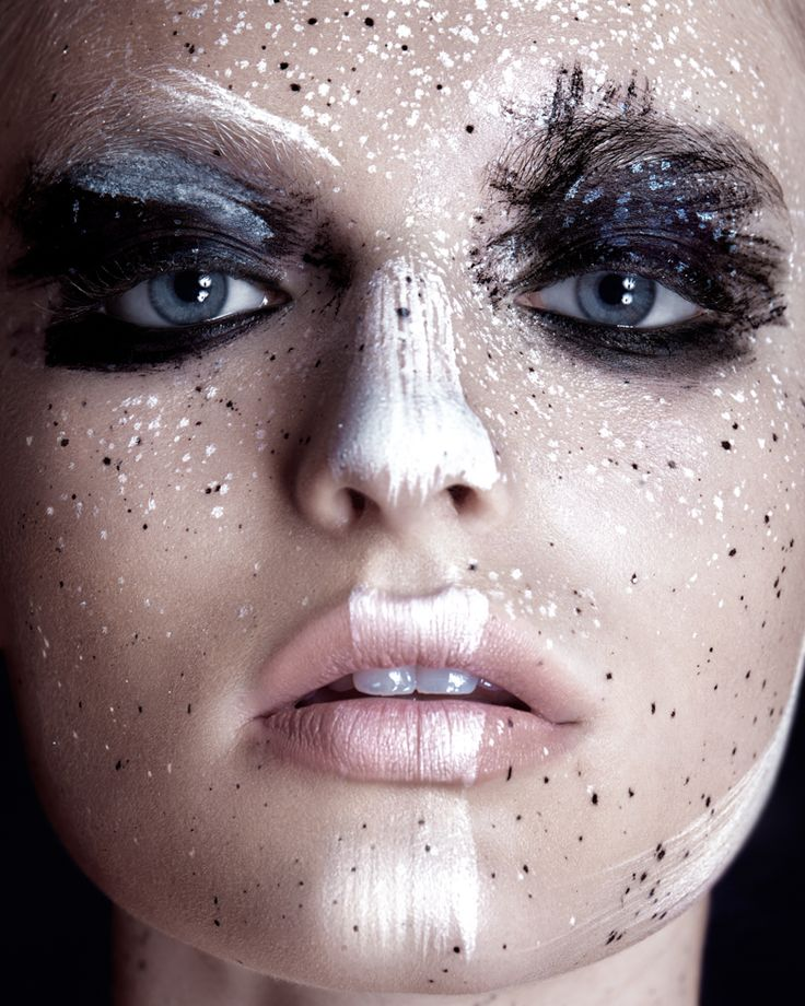 beauty makeup Isabella Farrell by Ruo Bing Lee for Vantage Shanghai September 2015