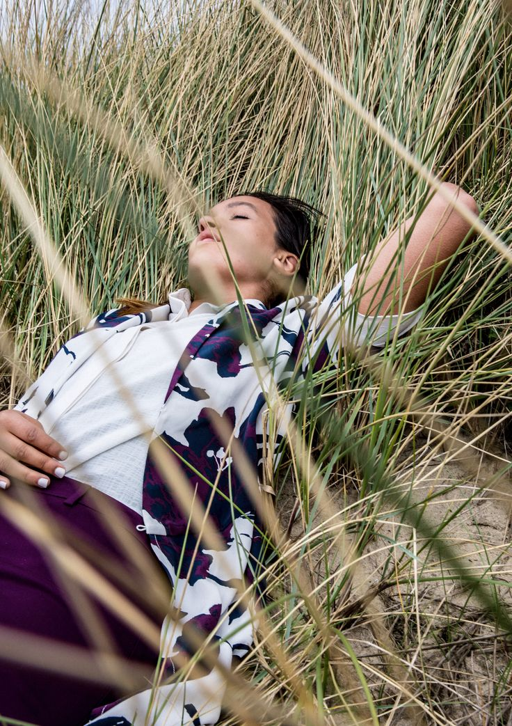 """""""Laying down in the dunes and forgetting all the school stress was the most satisfying to do back then."""""""
