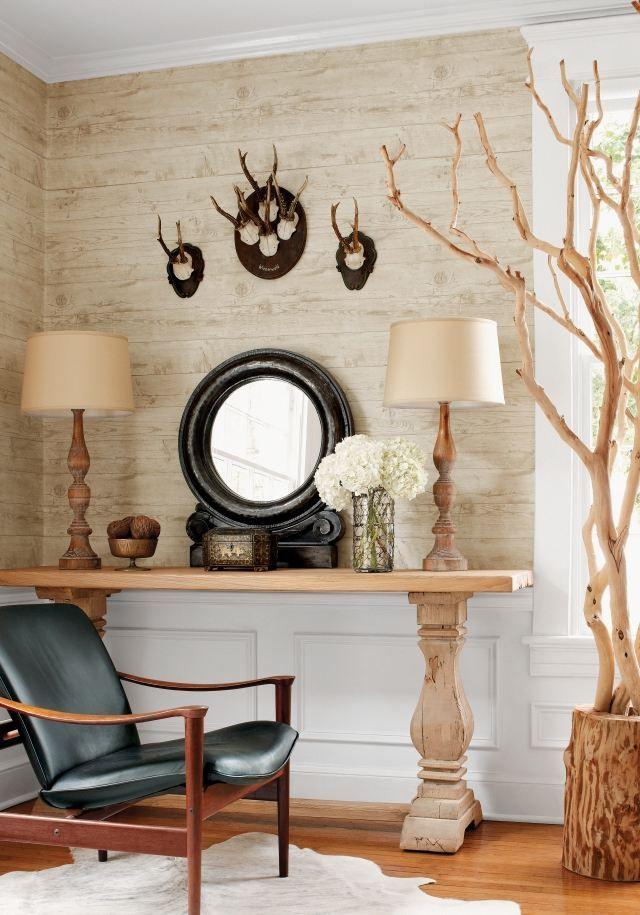 best 20+ tapete holzoptik ideas on pinterest | toiletten tapete, Moderne deko