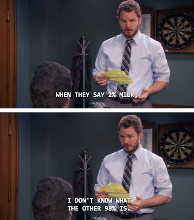 23 times andy dwyer was secretly a genius thoughts what