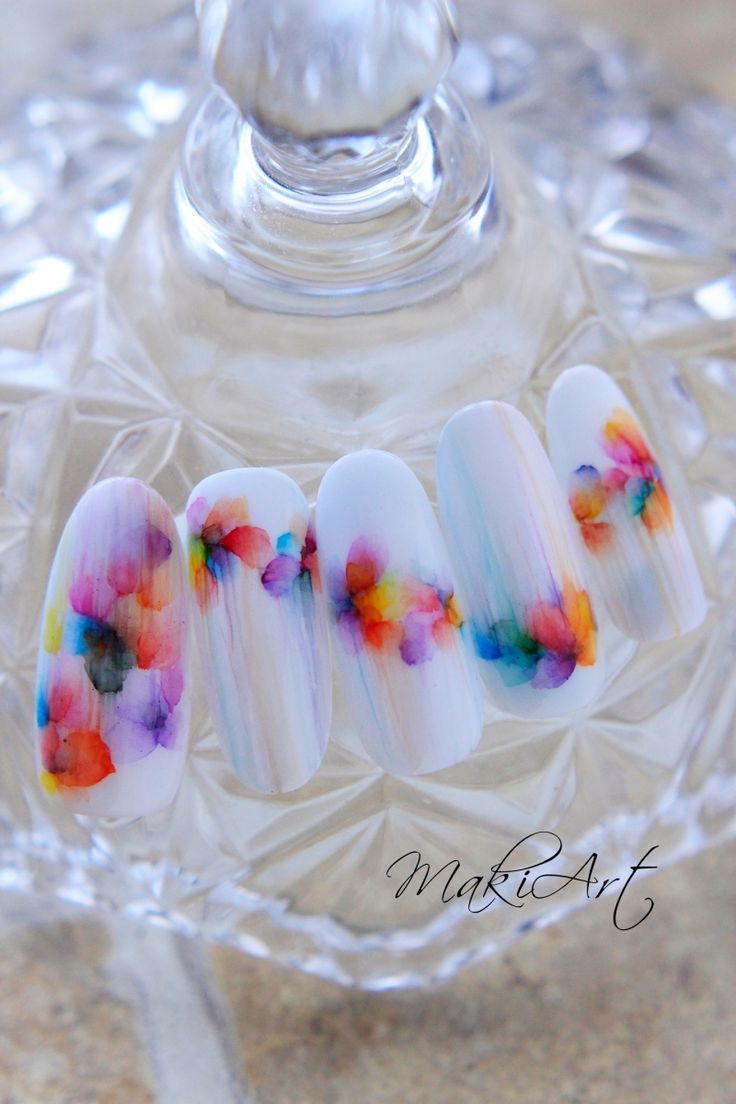 『Fantasy Nails NailArt Tips White』