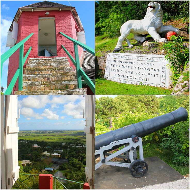 Gun Hill Signal Station #Barbados  Panoramic views, intriguing history & an amazing lion carving!