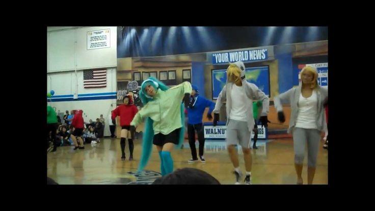 Matryoshka Dance Performance Anime Club 2012 Walnut High School WHS Mult... Gosh how I wish...