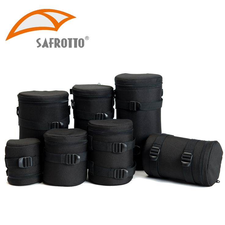 Safrotto High Quality Professional Photographic Accessory Waterproof Camera Lens Case Bag Black Shockproof Pouch For Canon Nikon //Price: $18.22      #shopping