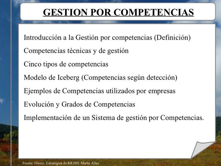 Gestión por Competencias laborales by Juan Carlos Fernandez via slideshare