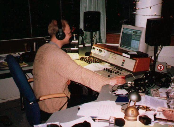 Radio Dei Turku, on air in old studio. Broadcasting the gospel of my king Jesus for everyone.