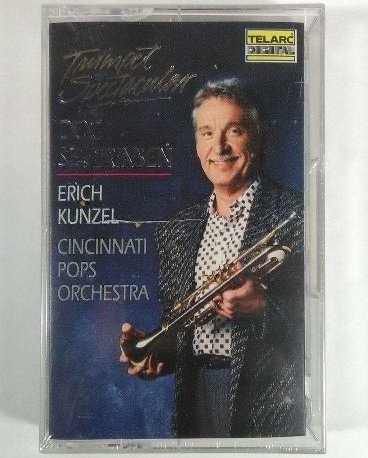 Trumpet Spectacular / Doc Severinsen, Erich Kunzel Sealed Telarc Cassette