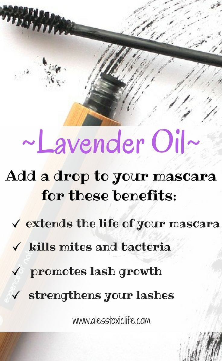 Add lavender oil to your mascara for these benefits. Benefits of mascara.#essentialoils #mascara