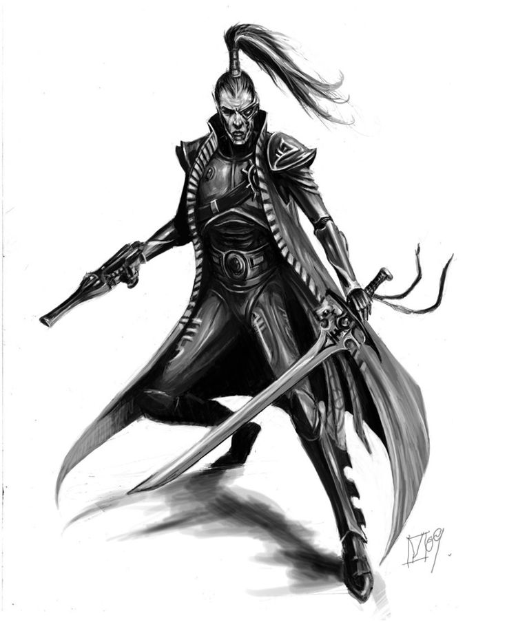 Eldar Pirate by paranoimiac on DeviantArt
