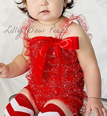 Hey, I found this really awesome Etsy listing at https://www.etsy.com/listing/191935634/red-glitter-lace-petti-romper-baby-girl
