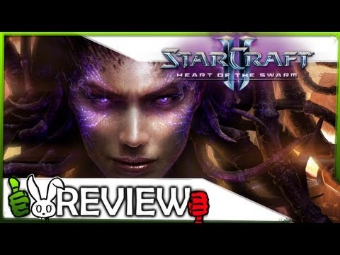 Starcraft 2: Heart of the Swarm review! Heart of the Swarm, the first expansion for Starcraft 2, recently released but is this Zerg-filled game a worthy addition?