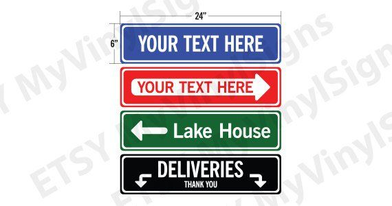 Personalized Street Signs >> Personalized Street Sign Street Sign Custom Street Name Sign