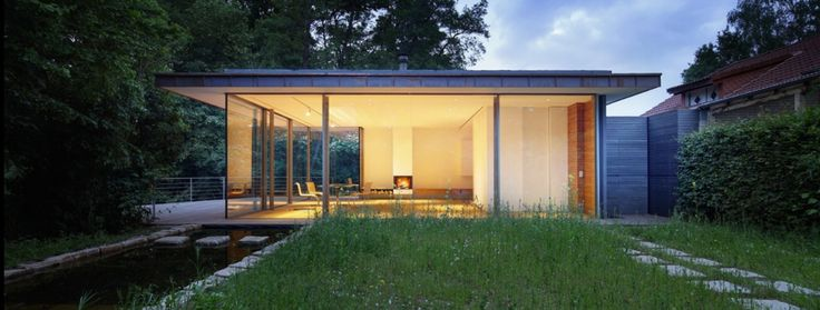 Falkenberg Innenarchitektur's House Rheder II is a home so stunning it won The American Architecture Prize bronze award for Residential Interior Design.