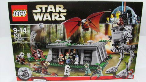 "Lego® 8038 Star Wars ""THE Battle OF Endor "" NEU OVP ´2009 12 Figuren   eBay"