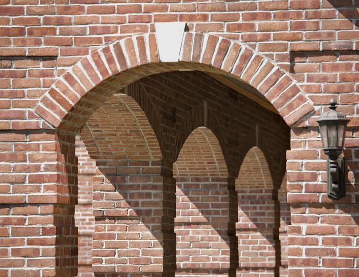 The Arch Has Long Been Used In Masonry Structures. In Fact, A Brick Masonry