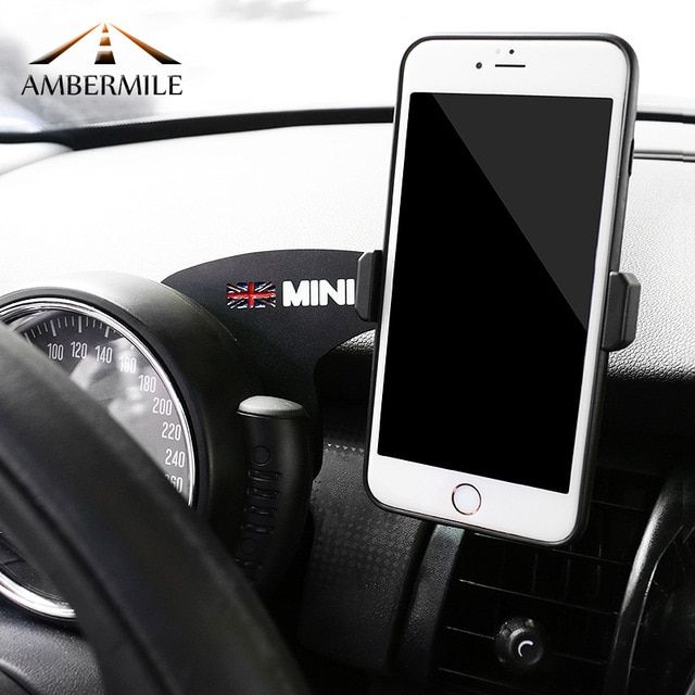 Fit Mini Cooper F54 F55 F56 Union Jack Style Smartphone Cell Phone Mount Holder