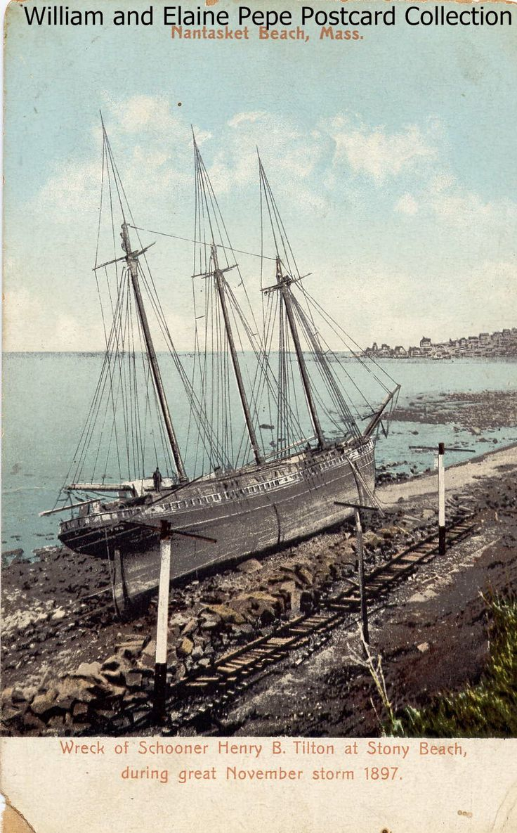 81 best hull images on pinterest childhood memories better picture of the henry b stranded on stony beach hull ma 1897 nvjuhfo Choice Image