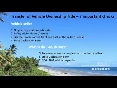 Mvil Png How To Register Vehicle And Transfer Car Ownership Title