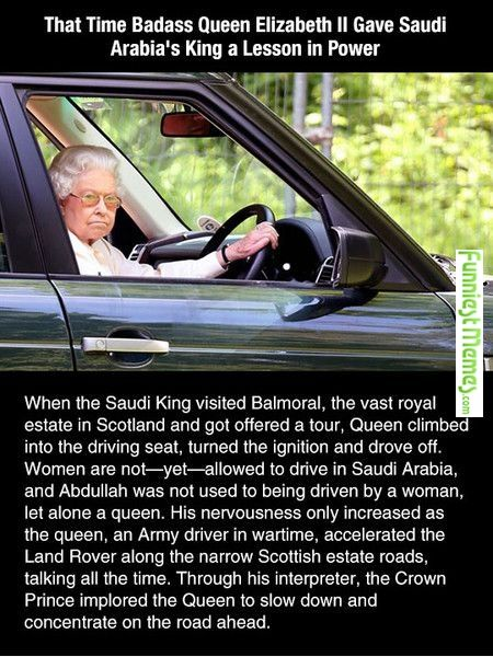 Yet another reason to love the Queen.