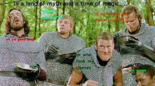 Actual plot of Merlin... Tumblr