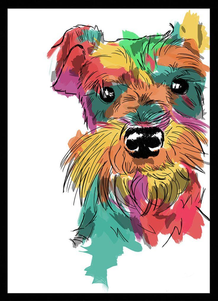 Schnauzer - Dog in Art