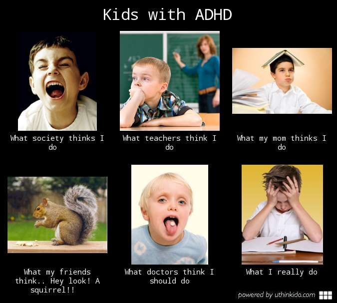 adhd meme - Google Search | adhd | Pinterest | Kid, Kids with adhd ...