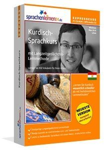 Kurdisch lernen: Lernen Sie Kurdisch wesentlich schneller als mit herkömmlichen Lernmethoden – und das bei nur ca. 17 Minuten Lernzeit am Tag