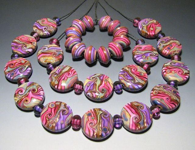 kim neely lampwork beads