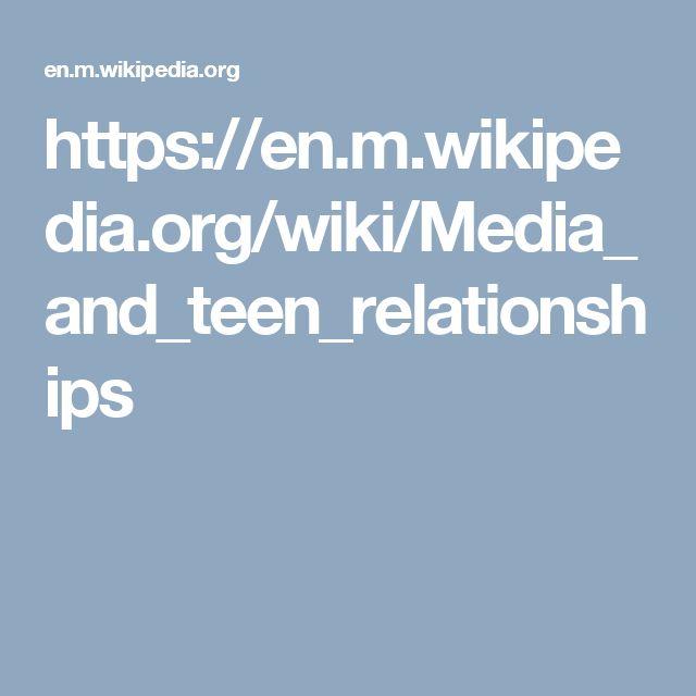 https://en.m.wikipedia.org/wiki/Media_and_teen_relationships