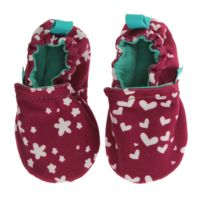 WeeChooze in Cheer Weechooze Baby Booties: Designed to delight tiny toes and engage little inquisitive minds, weechooze features CHOOZE's signature coordinating prints, stimulating colors, super soft microfiber lining, elasticized ankles, and non-slip soles. Available in 3 sizes: 0-6 months, 6-9 months, and 9-12 months.