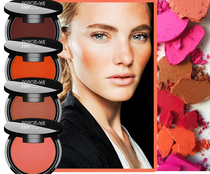 MAKE UP FOR EVER HD Blushes for spring 2014 #makeup4all #beauty