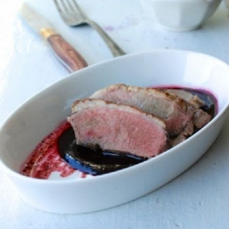Duck with Concord Grape Sauce