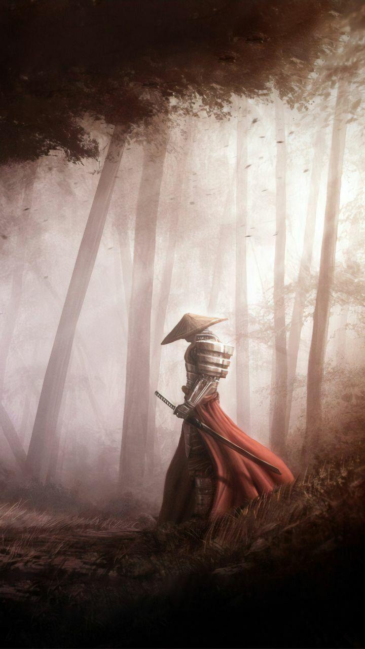 Samurai Farewell Artwork In 2020 Samurai Artwork Samurai Art Samurai Wallpaper
