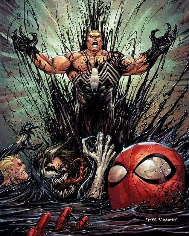 Credits Symbioticvenom Comics Movies Games Marvelart Spiderman Avengers Captainamerica Ironman Hulk Thor Venom Comics Marvel Art Comic Book Artwork