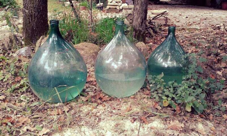 #green #glass,  #blown glass,  #ancient, #vintage,   #countrylife