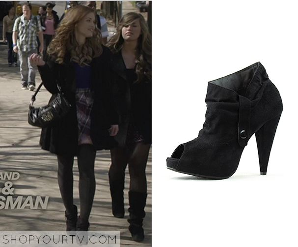 96df8540c2 Lydia Martin (Holland Roden) wears these black boots in this episode of Teen  Wolf. They are the Wild Diva Akemi-32 Ankle Boots  ...