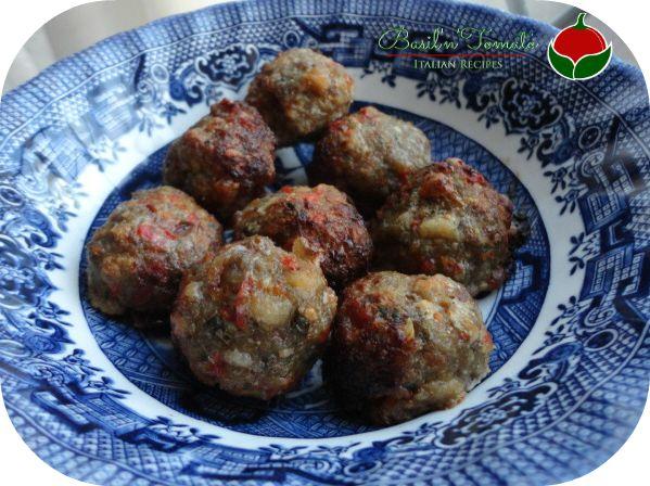 Polpette di carne e peperoni | Basil & Tomato