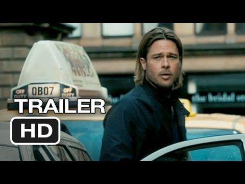 "Movie trailer video advertisement for ""World War Z"" #BradPitt #WorldWarZ #Movie #Entertainment #Film #Trailer #VideoMarketing #ViralAdvertising"