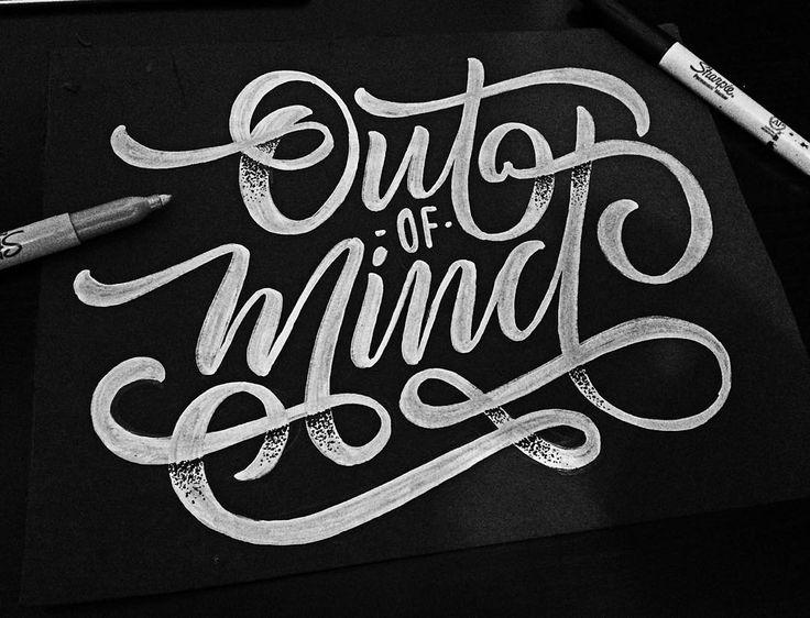"Gefällt 183 Mal, 10 Kommentare - Jean Carlos García (@champolatype) auf Instagram: ""¡Out of Mind! #goodtype #ligaturecollective #creatorhouse #typegang #artoftype #designinspiration…"""